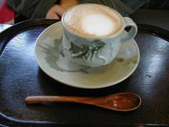 椿窯のカップ